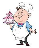 Cartoon image of chef
