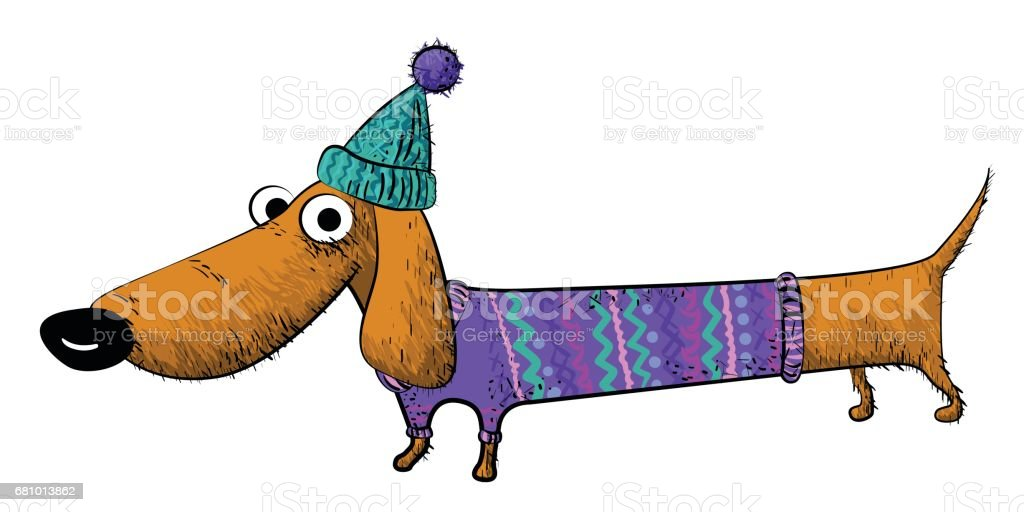 Cartoon image of dachshund royalty-free cartoon image of dachshund stock vector art & more images of animal