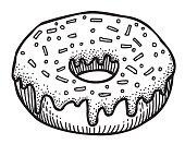 Cartoon image of doughnut