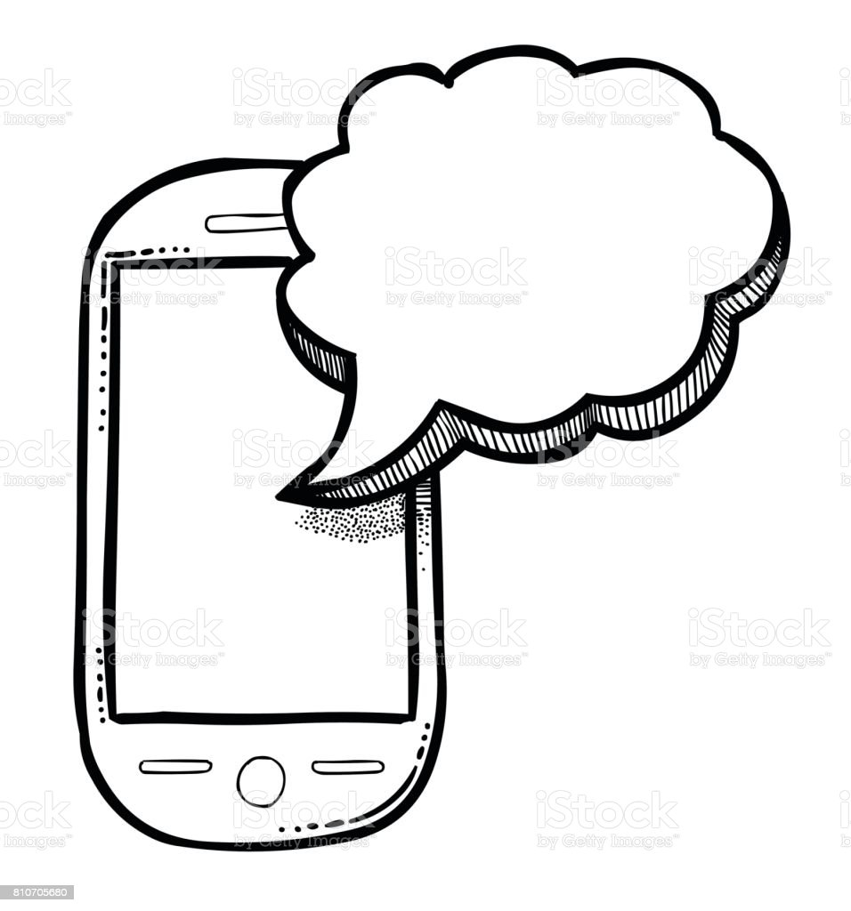 Cartoon Image Of Message Icon Sms Symbol Stock Vector Art More