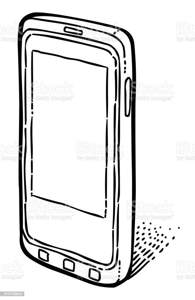 Image De Dessin Anime Dicone De Smartphone Pictogramme Telephone Portable Telephone Vecteurs Libres De Droits Et Plus D Images Vectorielles De Affaires Finance Et Industrie Istock