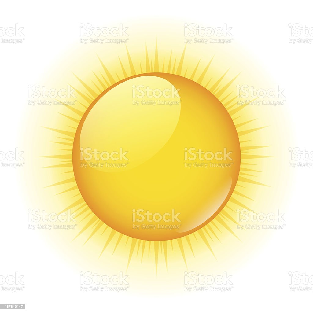Sun Vector Graphic Illustration