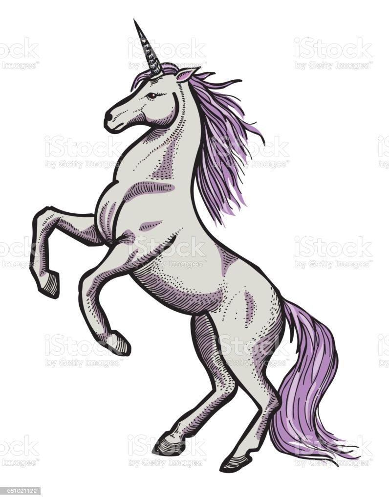 cartoon image of unicorn stock vector art 681021122 istock