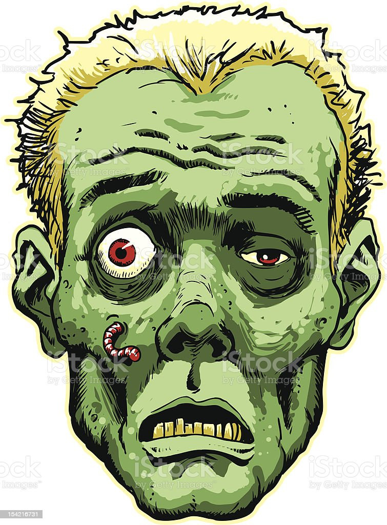 how to make a zombie face for halloween