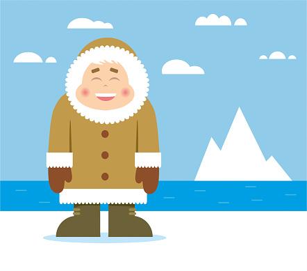 Cartoon Inuit