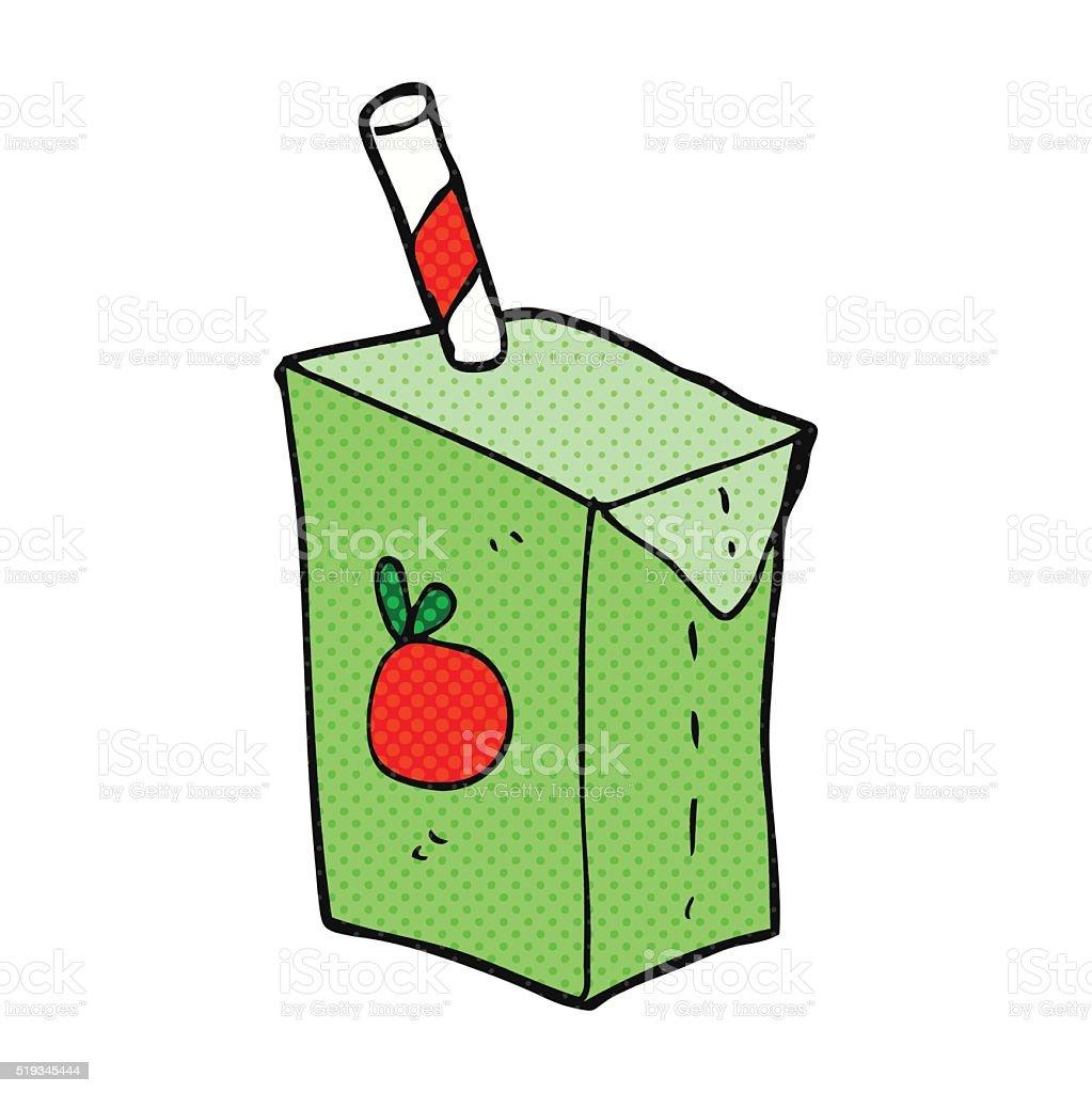 Dessin Animé Boîte à Jus De Fruits Vecteurs Libres De Droits Et Plus D Images Vectorielles De Bizarre