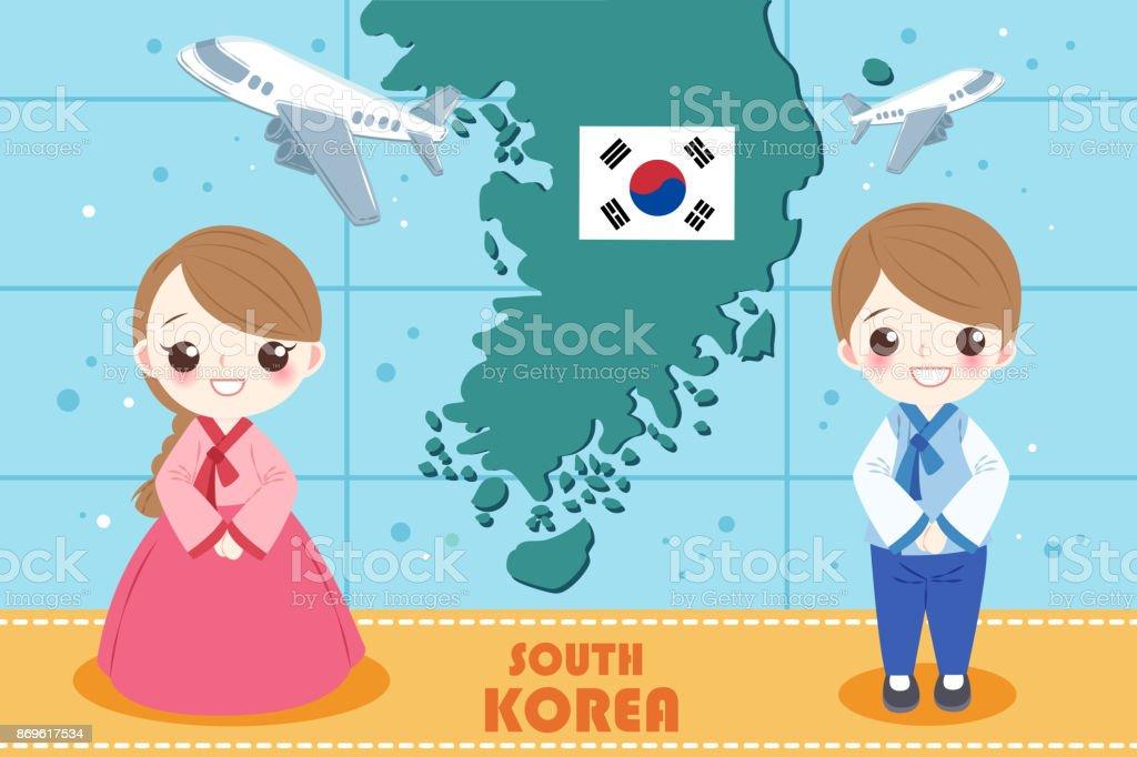 韓国の人を漫画します アジア大陸のベクターアート素材や画像を多数ご用意 Istock