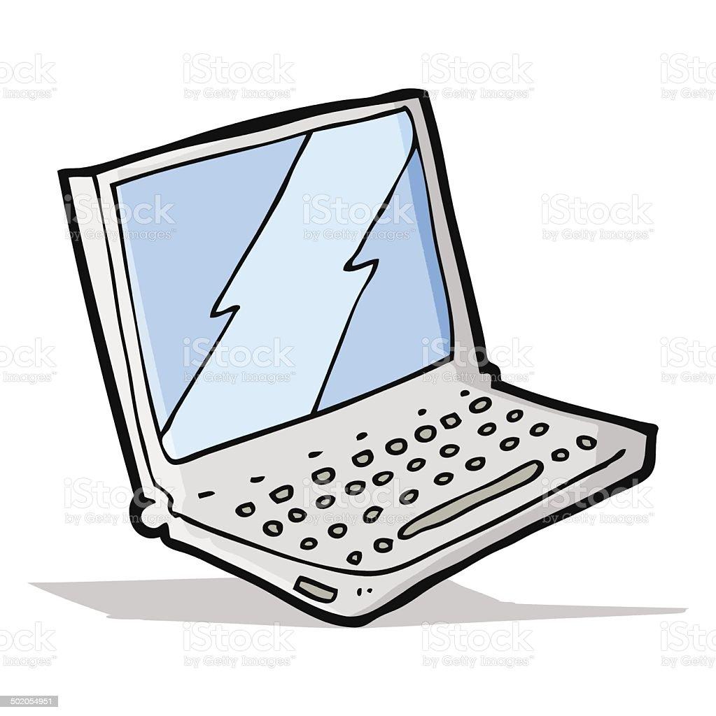 Dessin Un Ordinateur Portable Cliparts Vectoriels Et Plus D Images