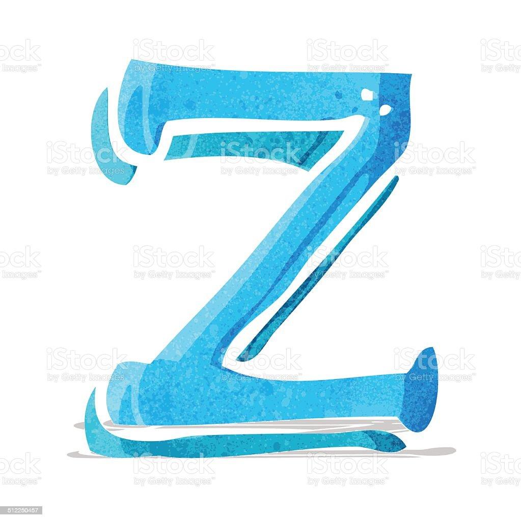 Comic Buchstabe Z Stock Vektor Art und mehr Bilder von Alphabet ...