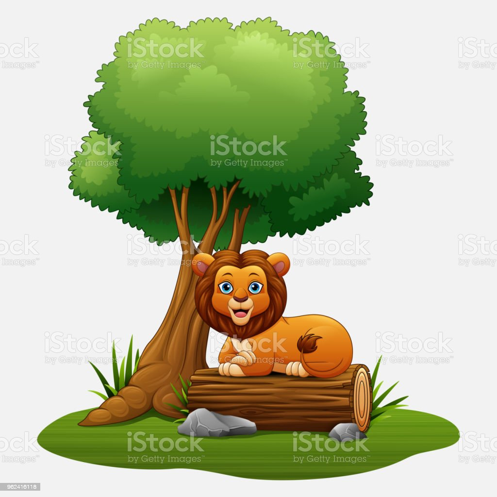 Cartoon Lion Sitting Under The Tree Stock Illustration Download Image Now Istock While the tropics are thought of as regions with warm to hot moist climates. cartoon lion sitting under the tree stock illustration download image now istock