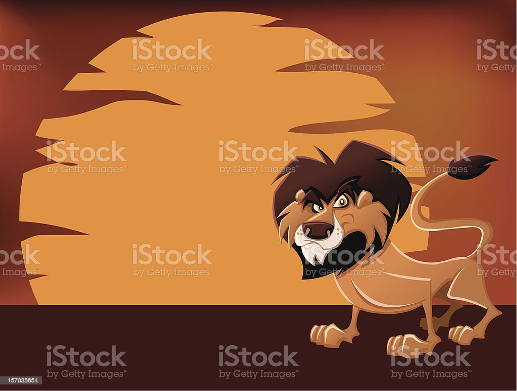 Cartoon lion royalty-free cartoon lion stock vector art & more images of africa