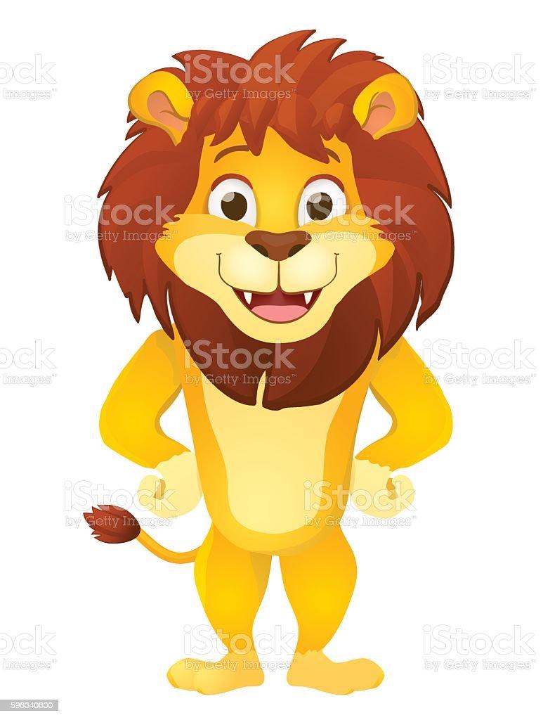 cartoon lion Lizenzfreies cartoon lion stock vektor art und mehr bilder von afrika