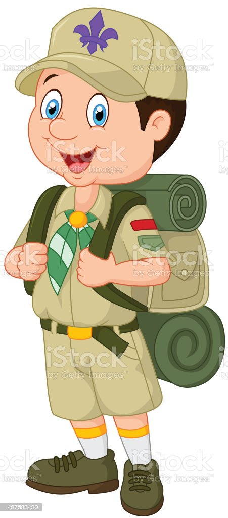 royalty free boy scout clip art vector images illustrations istock rh istockphoto com boy scout emblems clipart boy scout rank clipart