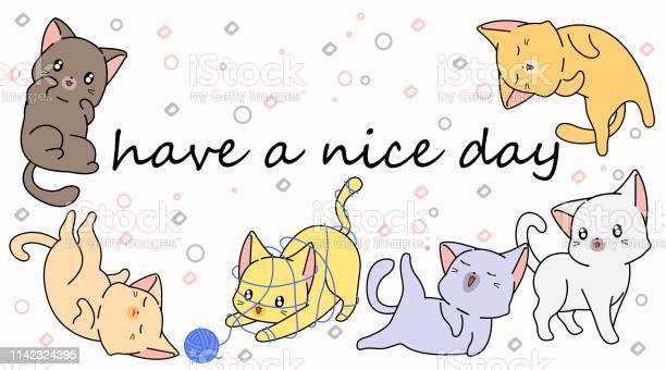 Cartoon little cats vector id1142324395?b=1&k=6&m=1142324395&s=612x612&h=suvj0lr8tokeo7cig jerms6uivg6n3x6jbgkxlhmt8=