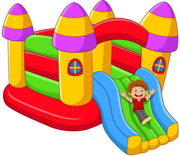 Inflatable Slide Clip Art: Top 60 Inflatable Slide Clip Art, Vector Graphics And