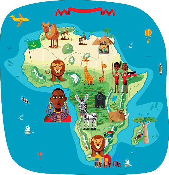 ilustrações, clipart, desenhos animados e ícones de desenho mapa da áfrica - mapa do oriente médio