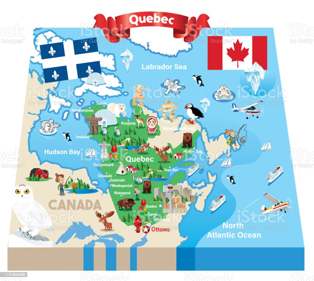 Cartoon Map Of Quebec Stock Illustration Download Image Now Istock Choose from over a million free vectors, clipart graphics, vector art images, design templates, and illustrations created by artists worldwide! cartoon map of quebec stock illustration download image now istock