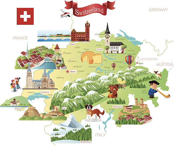 Royalty Free Swiss Culture Clip Art Vector Images Illustrations