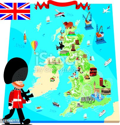 cartoon-map-of-uk-vector-id131390173?s=170667a Map Comp Image on