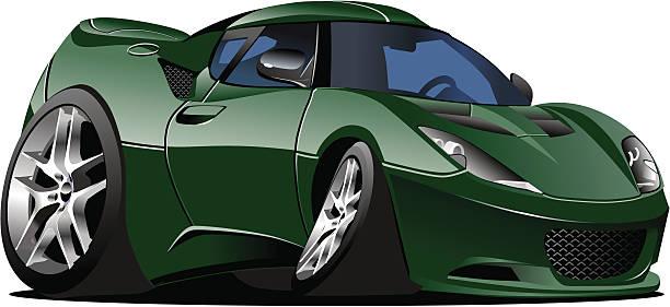 Royalty Free Cool Cars Cartoon Clip Art Vector Images - Cool car cartoon