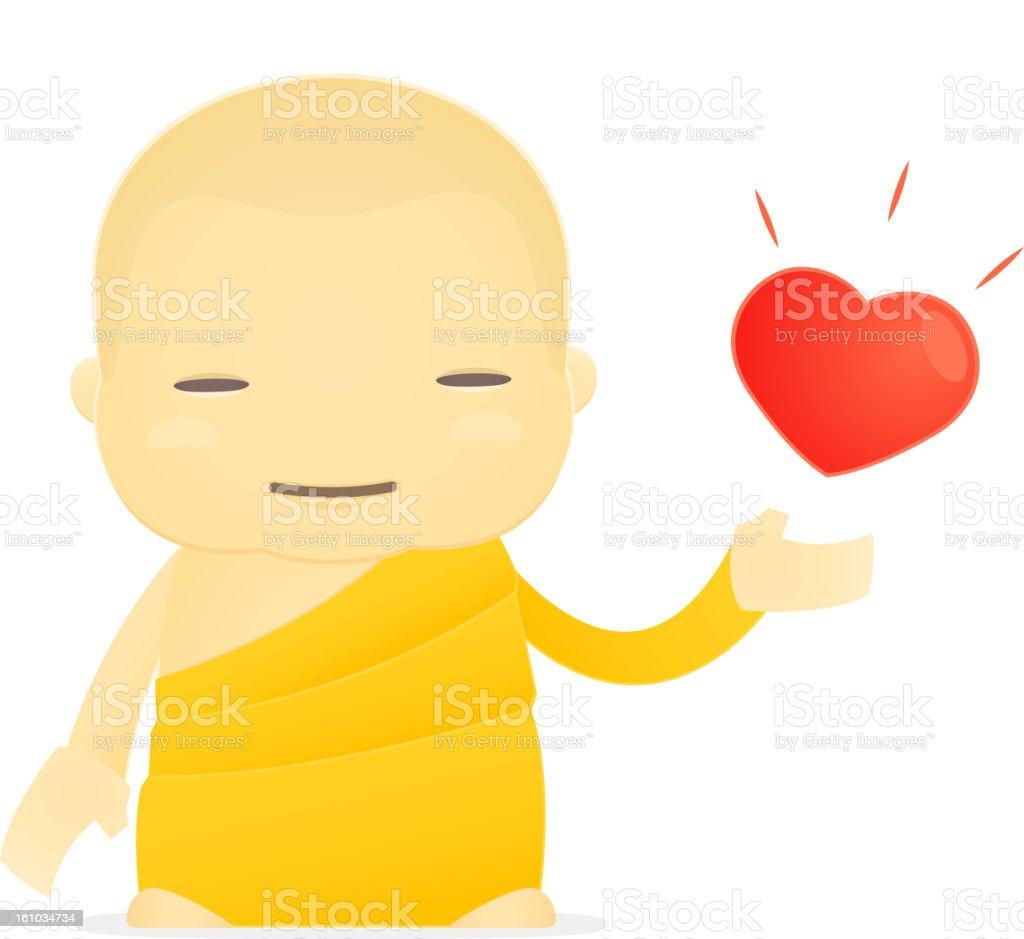 cartoon monk royalty-free cartoon monk stock vector art & more images of asia