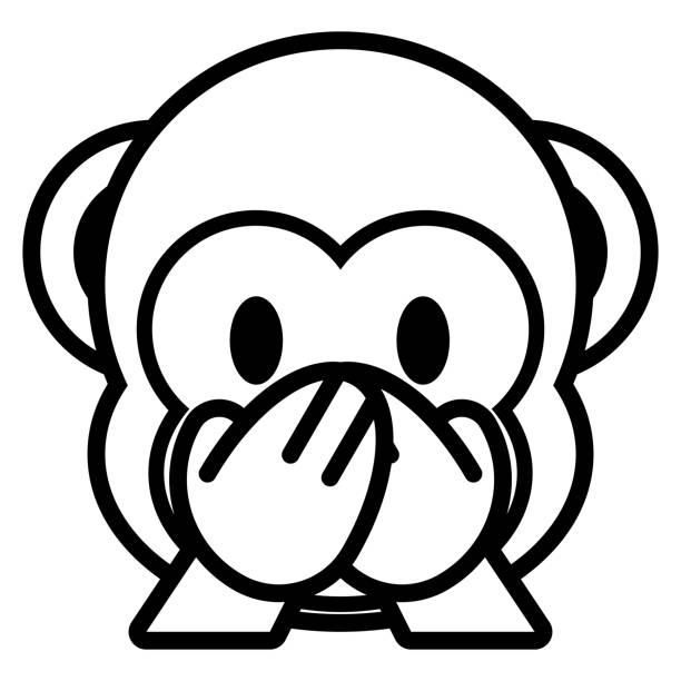 emoji aap kleurplaat emoji zum ausmalen 35