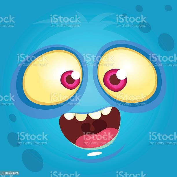 Cartoon monster face vector halloween blue monster avatar vector id610668624?b=1&k=6&m=610668624&s=612x612&h=ln4uxi23i6uj8ayafuigfigy7qgo0tpw rgokwip0pq=
