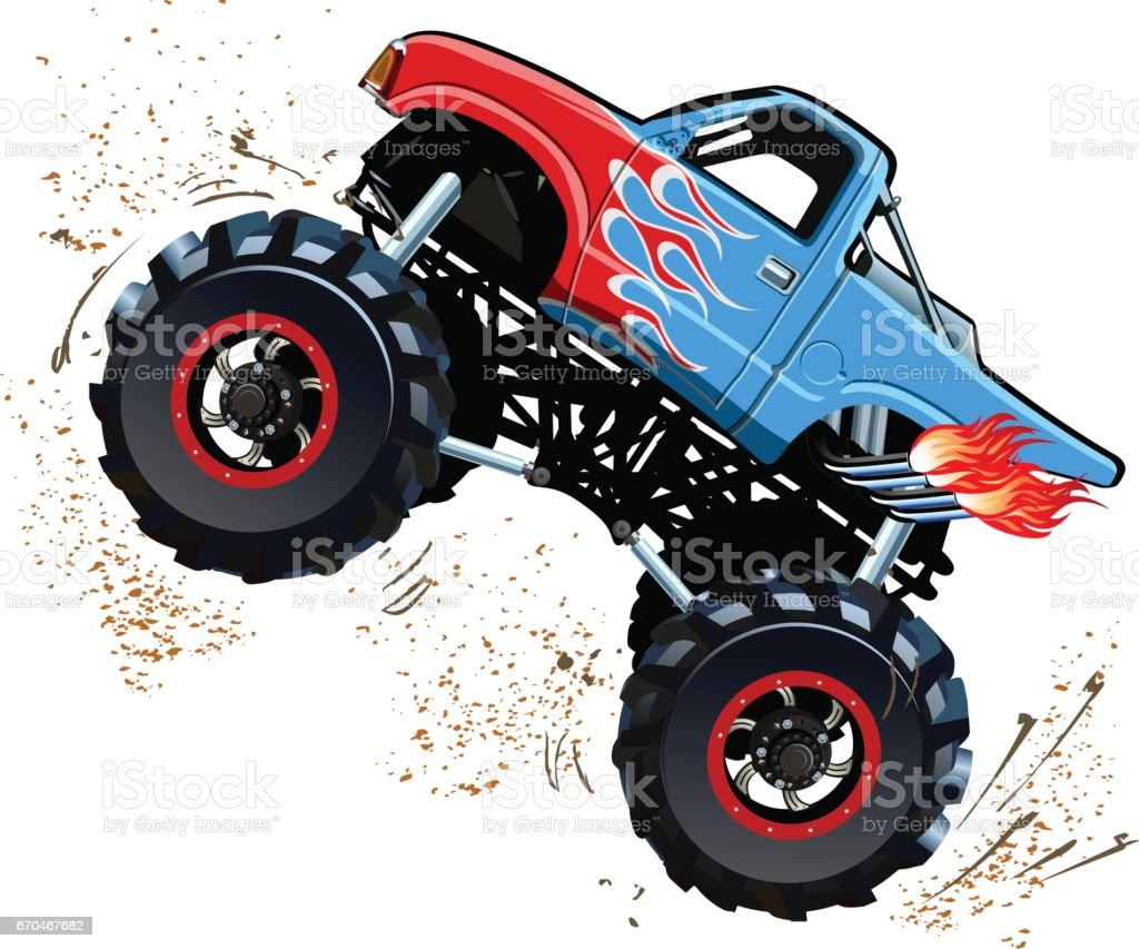 Monster Truck Rally Clip Art Vector Images