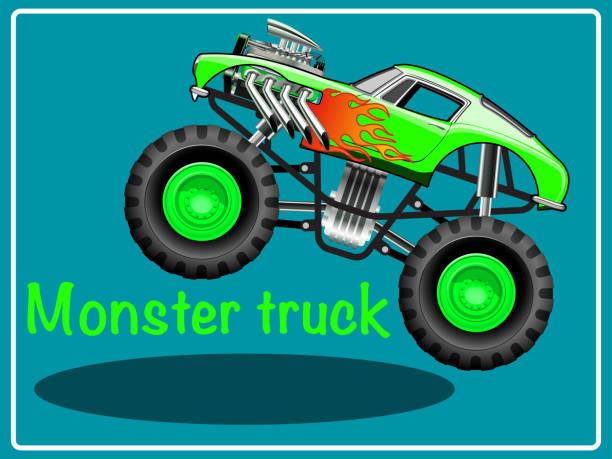 414 Monster Trucks Illustrations Royalty Free Vector Graphics Clip Art Istock