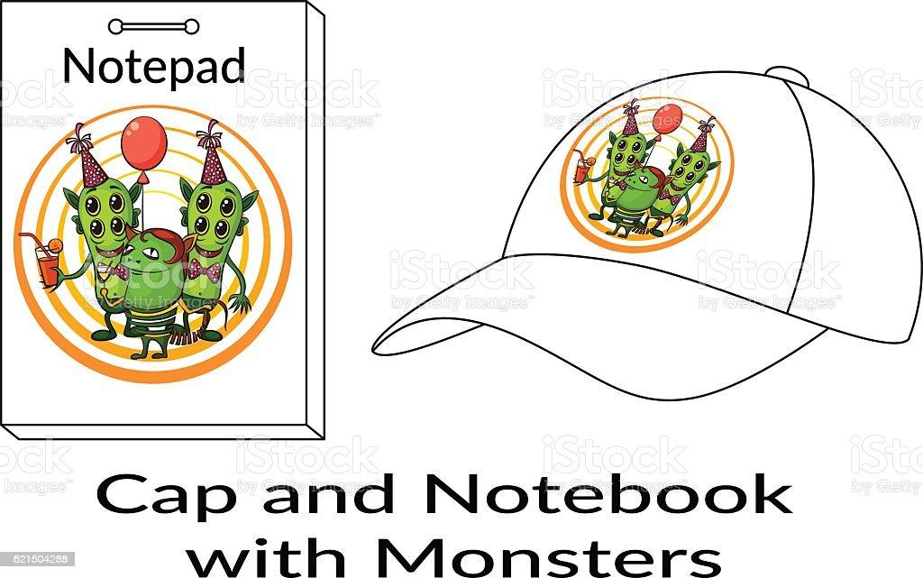 Monstres de dessin animé de groupe monstres de dessin animé de groupe – cliparts vectoriels et plus d'images de alcool libre de droits