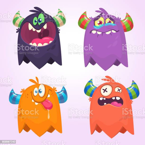 Cartoon monsters set for halloween vector set of cartoon monsters vector id858987240?b=1&k=6&m=858987240&s=612x612&h=eksryt99z2yn6qplews gjvd7f5twdqfr3b8lhuul 0=