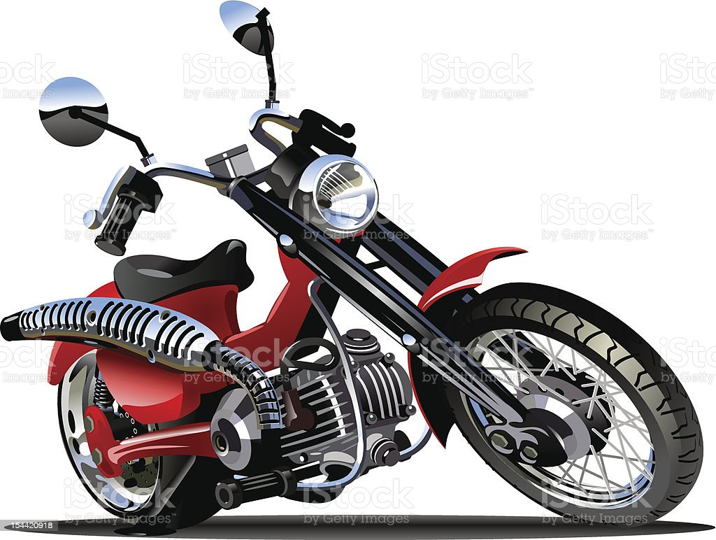 Cartoon Motorcycle royalty-free cartoon motorcycle stock vector art & more images of bicycle