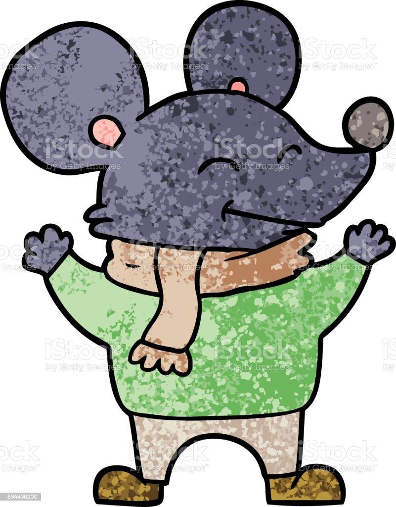 カットイラストマウス いたずら書きのベクターアート素材や画像を多数