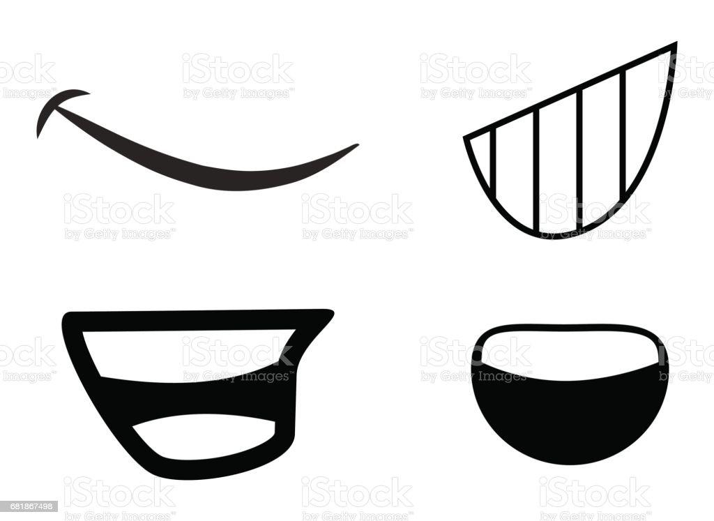 cartoon mouth vector symbol icon design stock vector art more rh istockphoto com mouth vector cartoon mouth vector ai