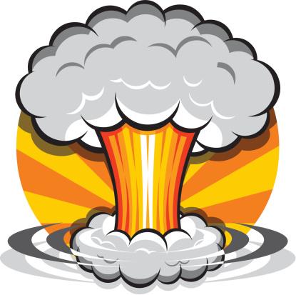 Cartoon Mushroom Cloud