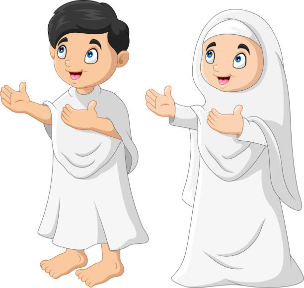 Muslim Girl Praying Cartoon Illustrations, Royalty-Free ...