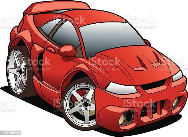 Cartoon Mustang Stock Illustration - Download Image Now