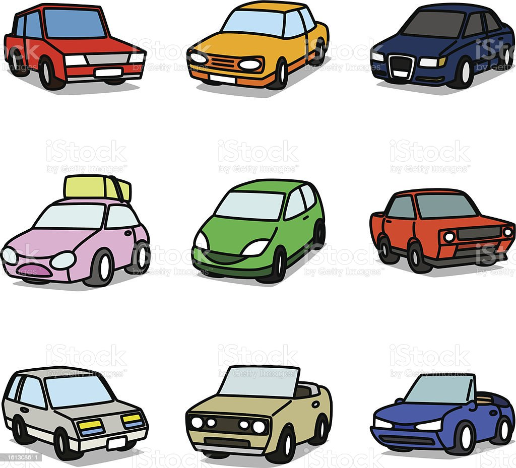 Cartoon Normal Cars royalty-free cartoon normal cars stock vector art & more images of alternative energy