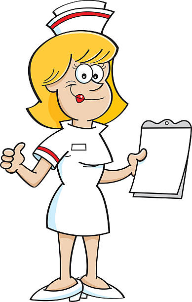 Best Funny Nurse Illustrations, Royalty-Free Vector ...