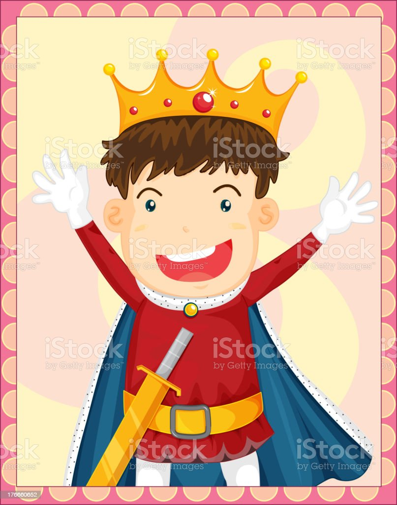 Cartoon of a king royalty-free cartoon of a king stock vector art & more images of acting