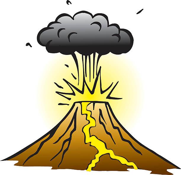 vulkan - pompeii stock-grafiken, -clipart, -cartoons und -symbole