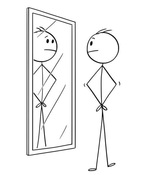 Blancanieves Mirror Mirror Vectores Libres De Derechos Istock