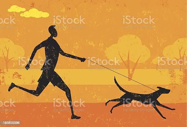 Cartoon of man running with dog vector id165800096?b=1&k=6&m=165800096&s=612x612&h=bdbh0bzgzt3qi8trwp4pcfrd8faecdowwf0gqeyv1zs=