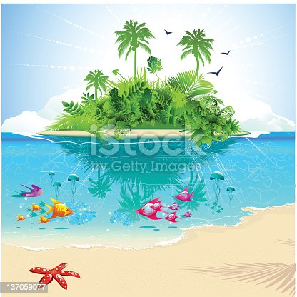 I was swimming here in one of my tropical dreams. Now, i'm inviting you to swim in my dream too.