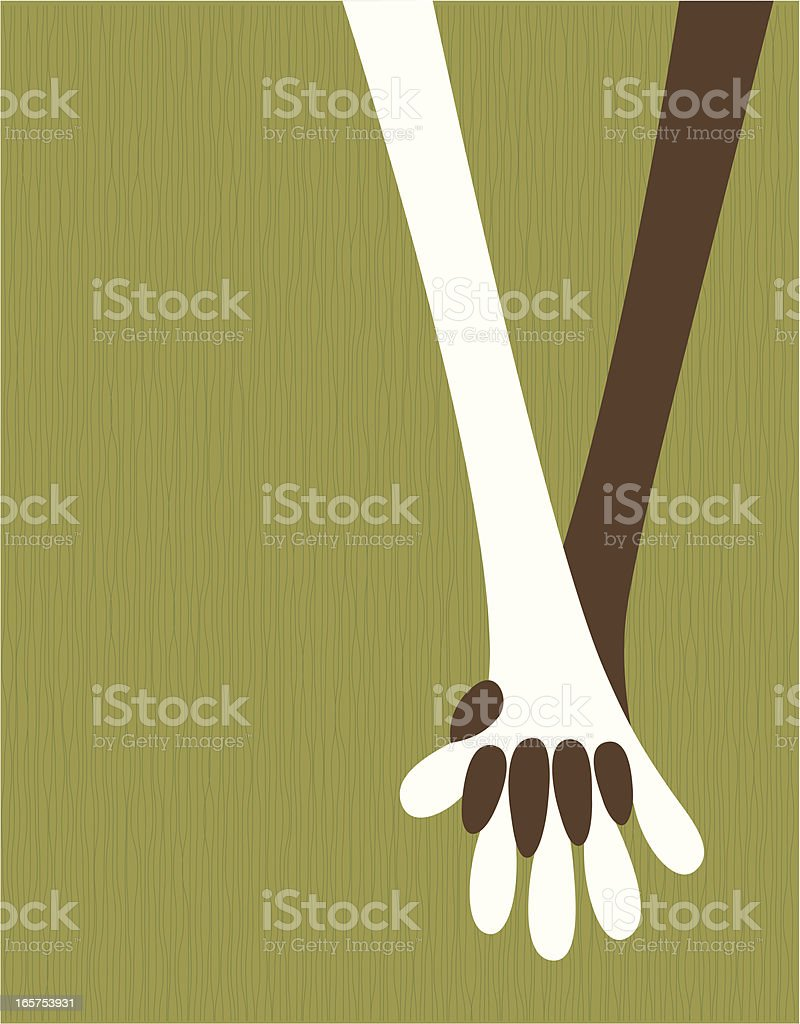 Cartoon of people of different ethnicities holding hands royalty-free cartoon of people of different ethnicities holding hands stock vector art & more images of allegory painting