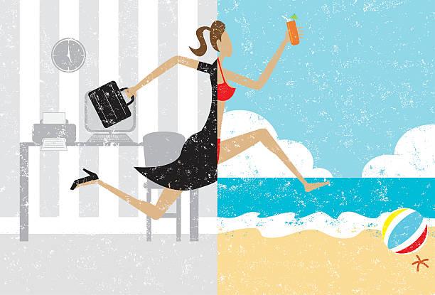 ilustrações, clipart, desenhos animados e ícones de transição para as férias - viagem de primeira classe