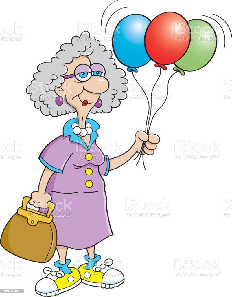 royalty free funny happy birthday for women clip art clip art rh istockphoto com birthday clipart for female Birthday Diva Clip Art for Women