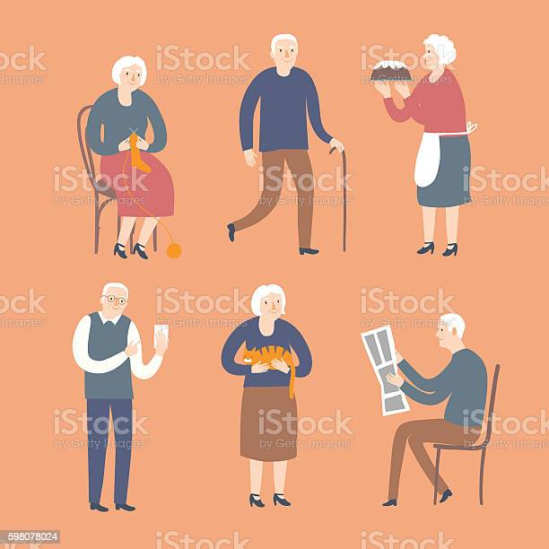 Cartoon old people spending leisure time vector id598078024?b=1&k=6&m=598078024&s=612x612&h=u xzprlluf2wmcbag9nt7fhahqbbd4xgvpa  xpkqtu=