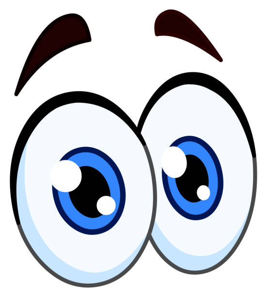 Best Cartoon Eyes Illustrations, Royalty-Free Vector ...