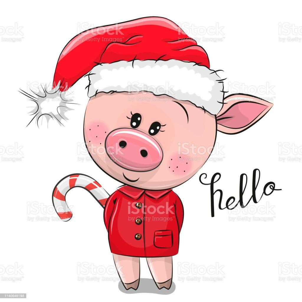 Santa hat. Costume de Noël chapeaux nicholas isolé sur fond transparent,  vector santa portant en cartoon style pour les enfants Image Vectorielle  Stock - Alamy